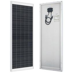 HQST 70 Watt 12 Volt Polycrystalline Solar Panel Off Grid Po
