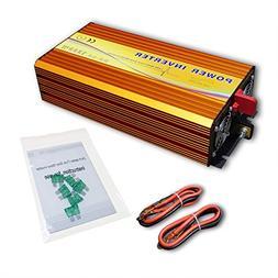 1500W Off Grid Pure Sine Wave Inverter DC 12V to AC 110V for