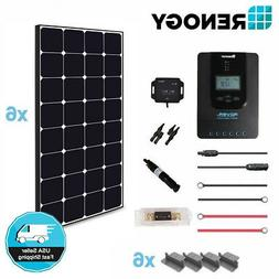 Renogy 400 Watt 12 Volt Off Grid Solar Premium Kit with Ecli