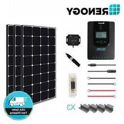 Renogy 300 Watt 12 Volt Off Grid Solar Premium Kit with Ecli