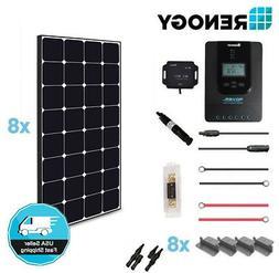 Renogy 800 Watt 12 Volt Off Grid Solar Premium Kit with Ecli