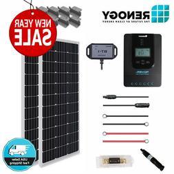 Renogy 200 Watt 12 Volt Off Grid Premium Monocrystalline Sol