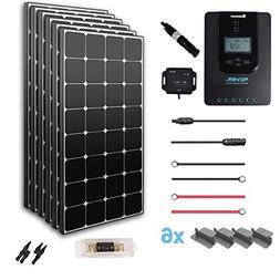 Renogy 600 Watt 12 Volt Off Grid Solar Premium Kit with Ecli