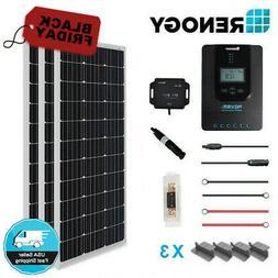 Renogy 300 Watt 12 Volt Off Grid Premium Monocrystalline Sol