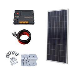 ECO-WORTHY 150W 12V off Grid Solar System Kit 20A Temperatur