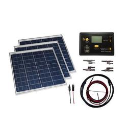 Grape Solar GS-150-KIT Off-Grid Solar Panel Kit, 150W
