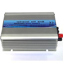 GTPOWER 500W Grid Tie Solar Power Inverter Converter DC 22V-