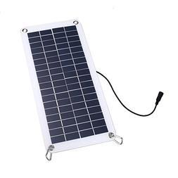 Hanbaili 18V 10.5W Polycrystalline Solar Panel Battery Charg