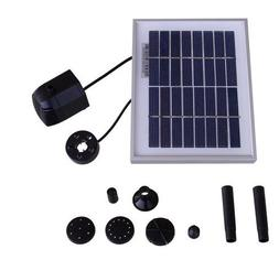 "36"" Head Solar Pump and Solar Panel Kit With Battery Pack an"