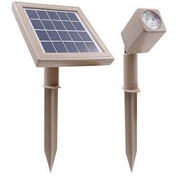 HEX 50X Single Solar Spotlight Warm White LED for Outdoor Ga