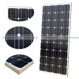 HOT! ECO-WORTHY 100 Watt 12 Volt Monocrystalline Solar Panel