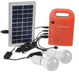 House Small Solar Generator Power Generation System USB Char