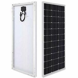 HQST 100 Solar Panels Watt 12 Volt Monocrystalline  Garden