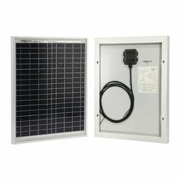 HQST 20 Watt 12Volt Off Grid Polycrystalline Portable Solar