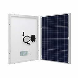 HQST 50W 12V Poly Solar Panel 50 Watt 12 Volt Off Grid Power