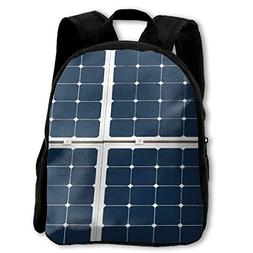 The Children's Image Of A Solar Power Panel Backpack