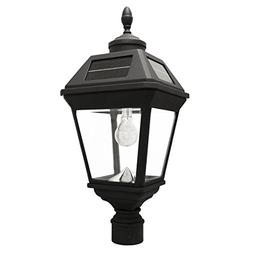 Gama Sonic GS-97B-F Imperial Bulb Light Outdoor Solar Lamp,