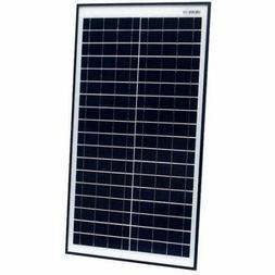 ALEKO Industrial Use Monochrystalline Solar panel, 30 WATT 2