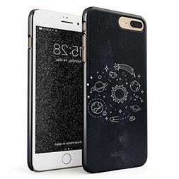 Glitbit iPhone 7 Plus/8 Plus Case Cute Solar System Galaxy S