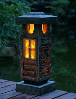 "TIAAN 20"" height Solar lantern Solar garden lamp Solar pagod"