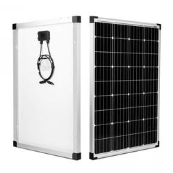 kinverch 100 Watts 12 Volts Monocrystalline Solar Panel for