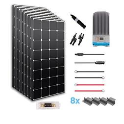 Renogy Premium Kit 800W:100W Solar Panels+MPPT 40Amp Charge