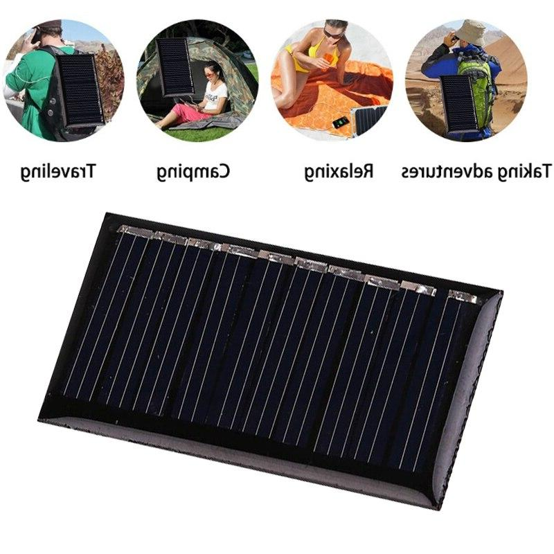 0.15W/0.25W/1W <font><b>Mini</b></font> <font><b>Solar</b></font> <font><b>Panel</b></font> Portable Charger Outdoors