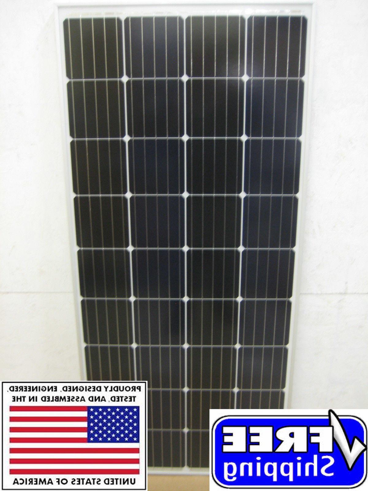 1- Volt Battery Panel Grid RV Boat 200 watt