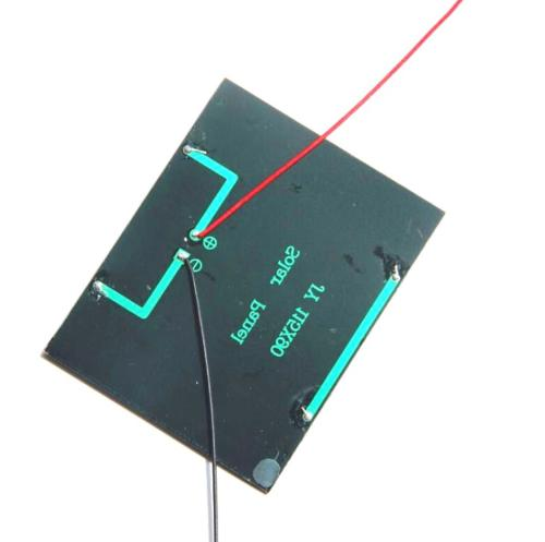 1 5w 12v small cell battery solar