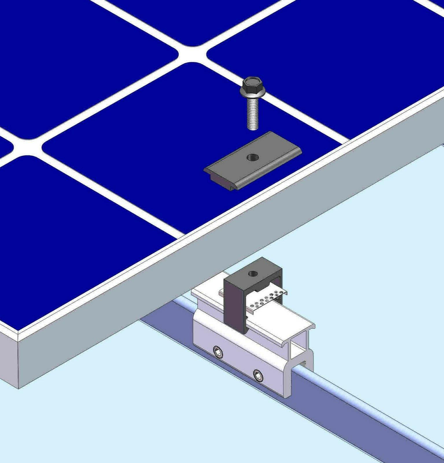 10 Mid Clamp Seam Panel Module