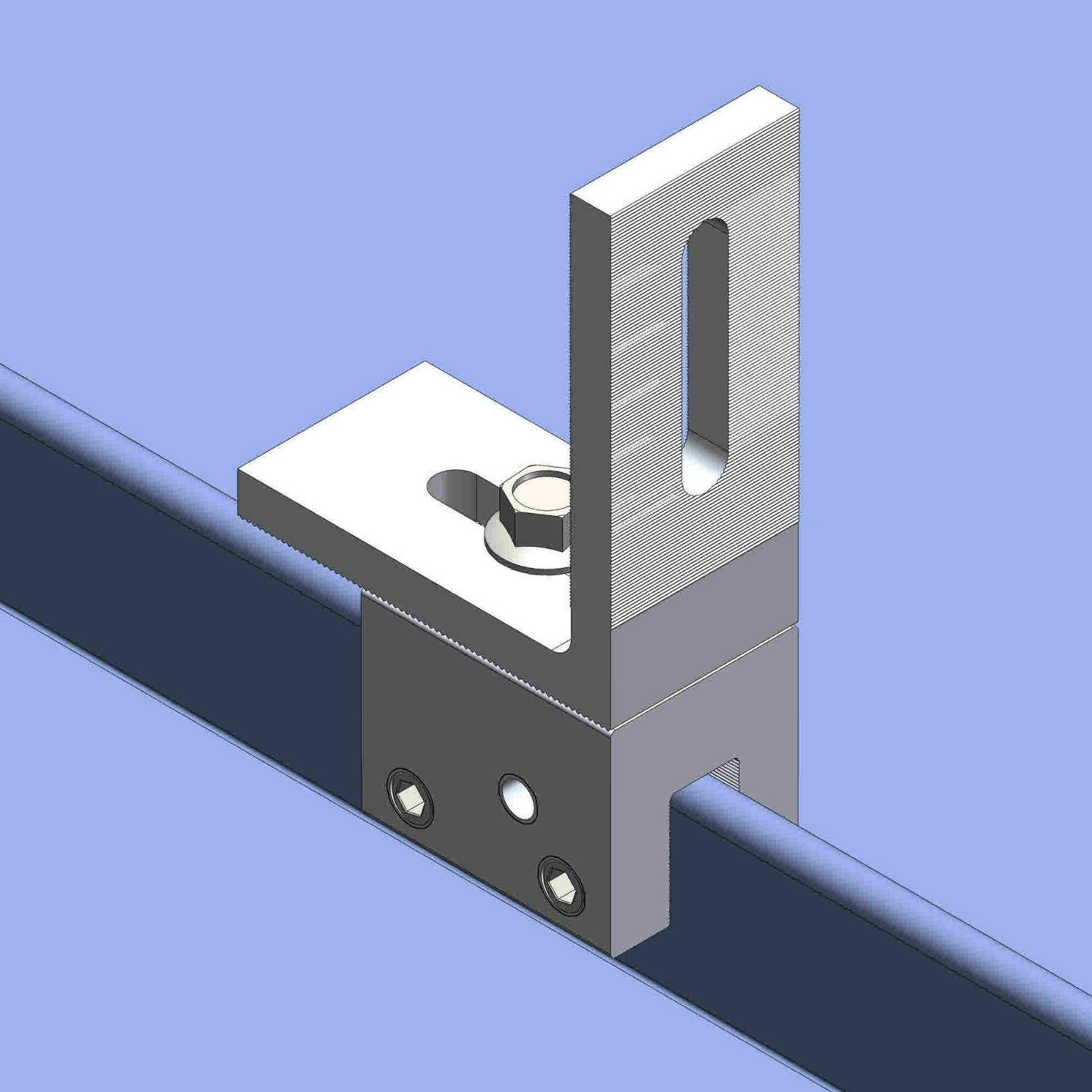 10 standing seam metal roof clamps l