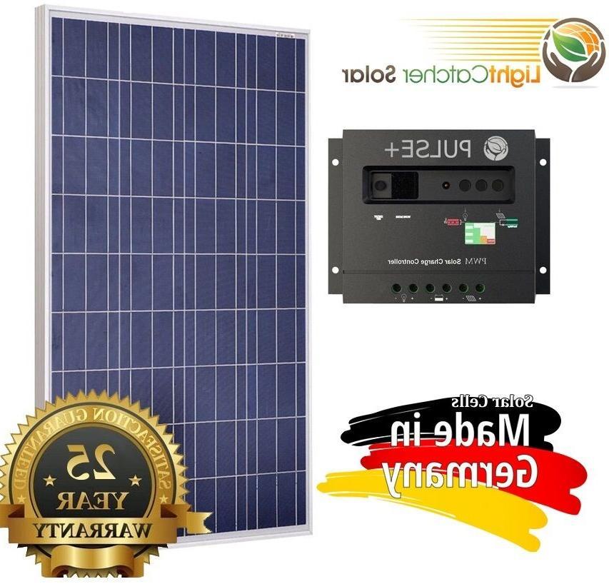 100 watt 100w solar panel kit