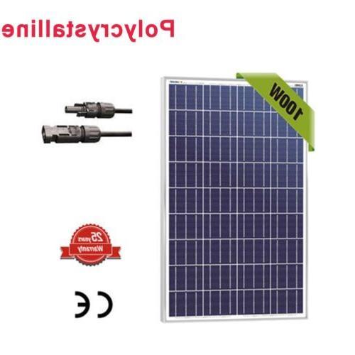 100 watt 100w watts solar panel 12v