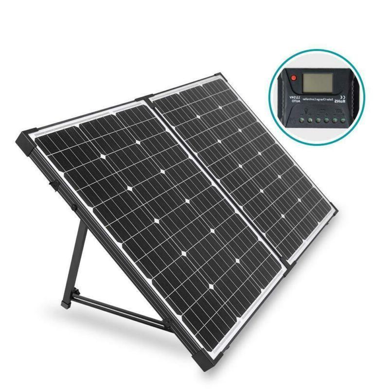 100 Watt 12 Volt Off Grid Monocrystalline Portable Folding S