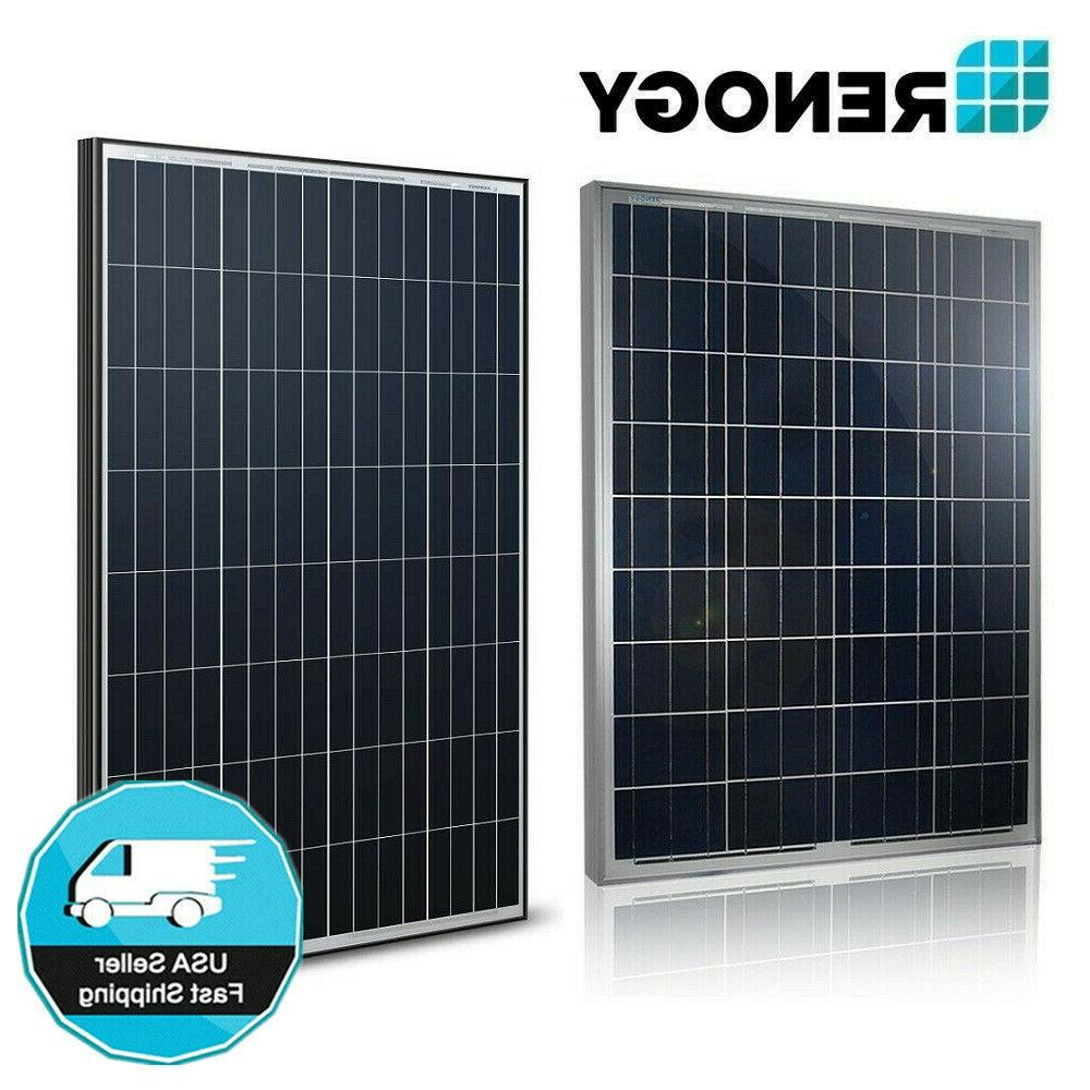 100 watt 12 volt solar panel 100w