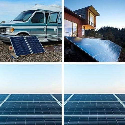 10W 30W 12V Solar PV Power Motorhome