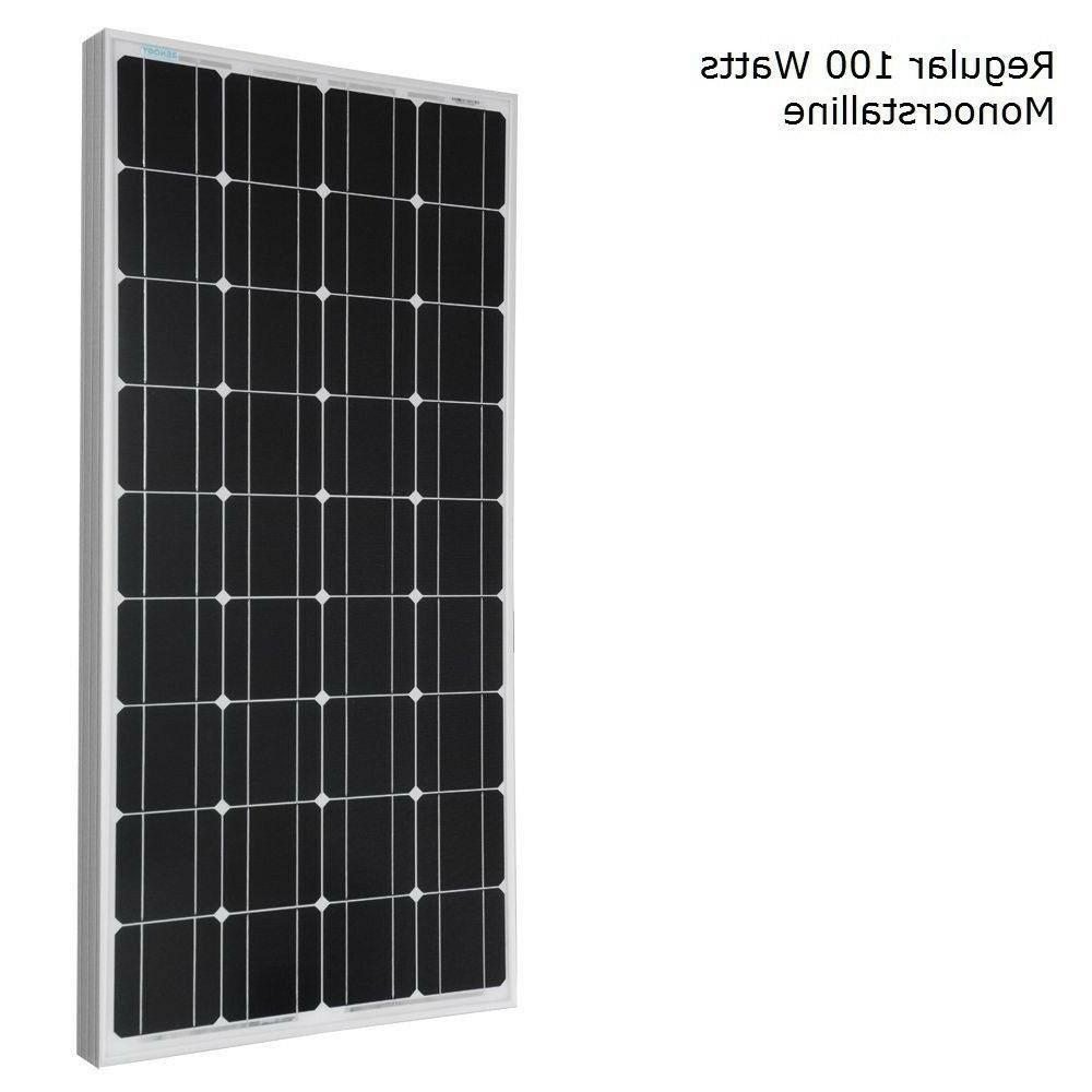 Renogy 100 Volt Solar 12V RV Home
