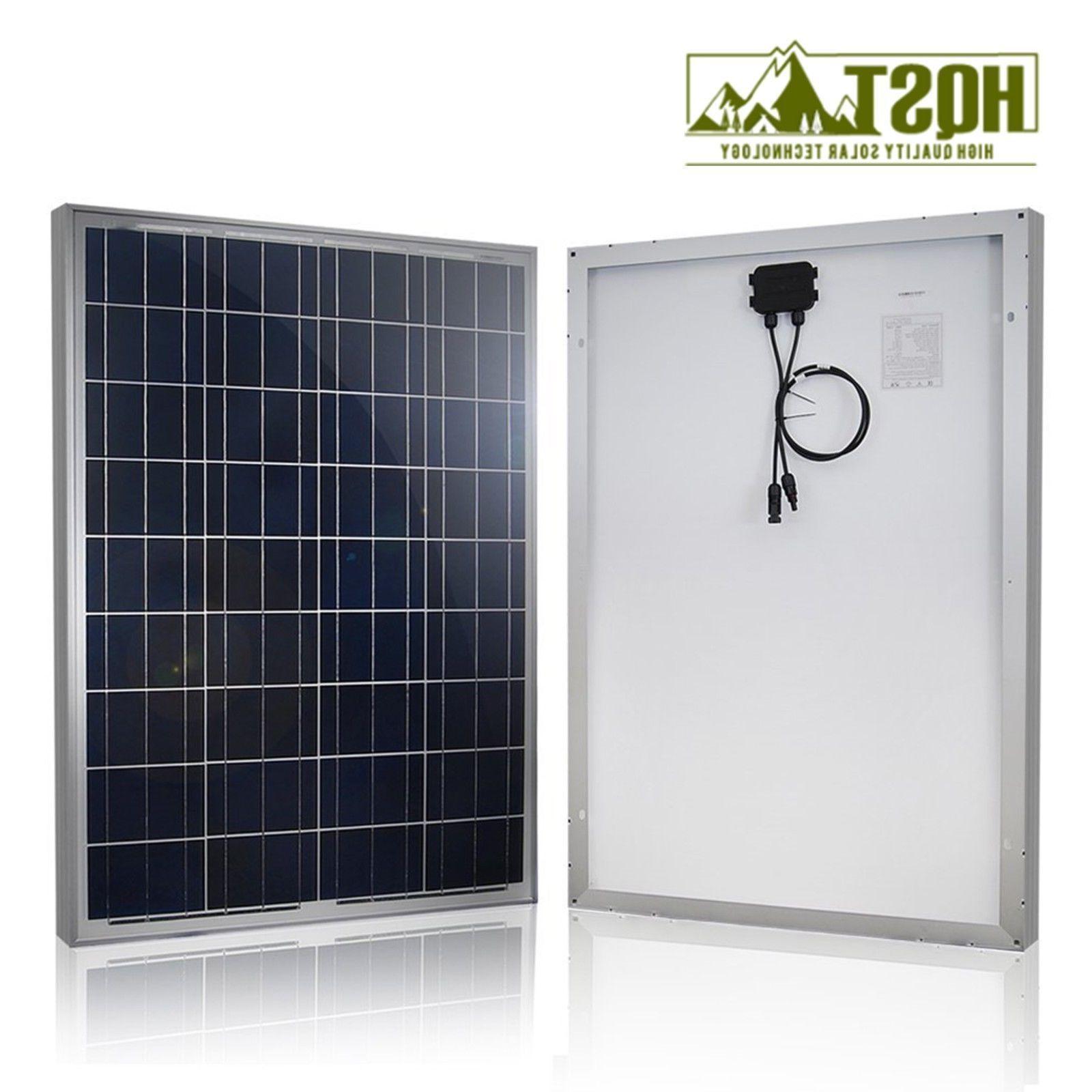 100 Watt 12 Volt Solar Kit Controller Charger Off Grid