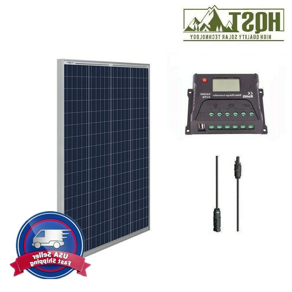 100 watt 12 volt solar panel kit
