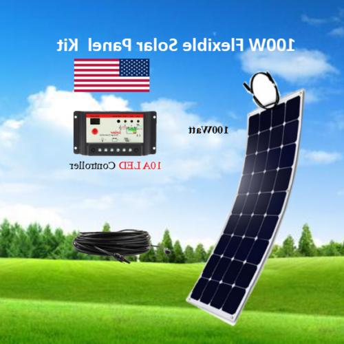 100 Watt Panel with 10A LED off Grid