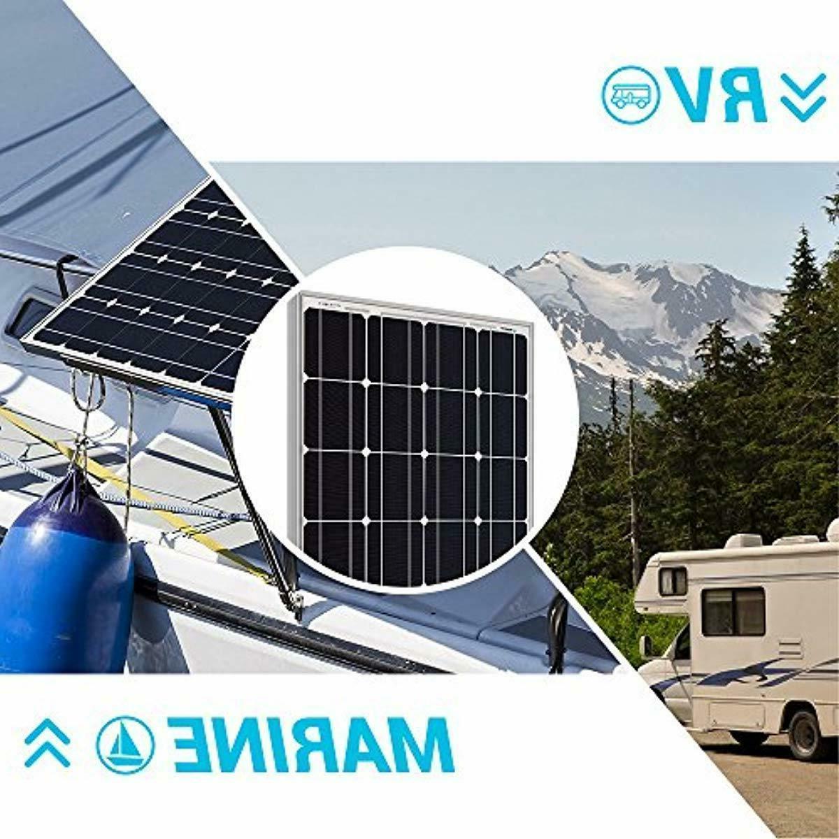 Renogy 100 Watts 12 Volts Monocrystalline Solar