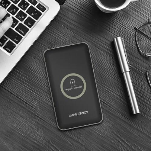 100000mah Wireless Battery iPhone X