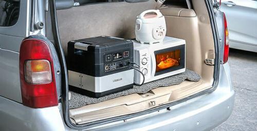 SUAOKI Portable Solar Generator Station for Camping Travel USB