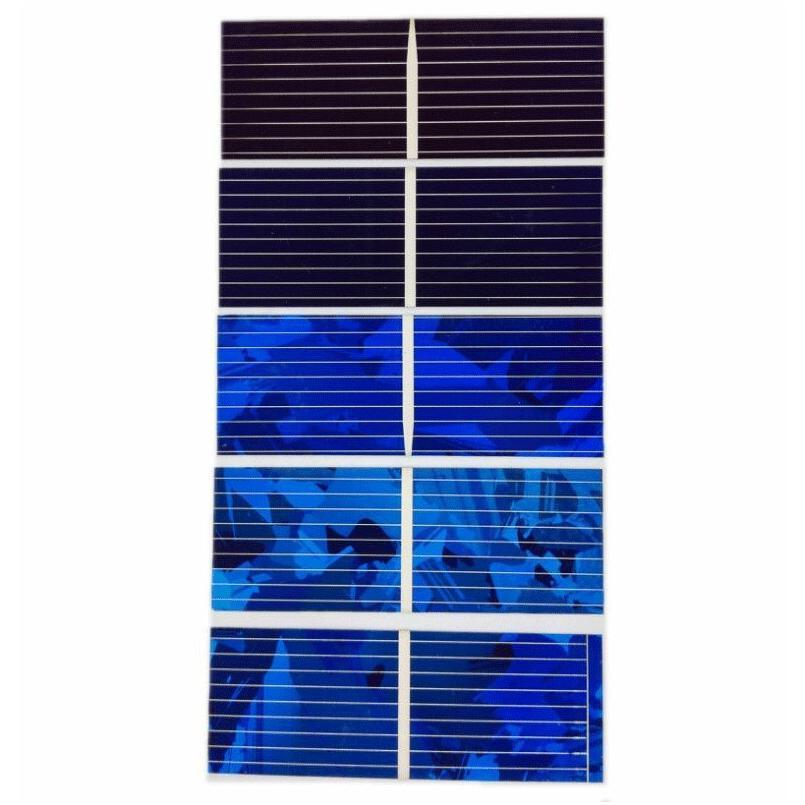 AIYIMA 100pcs Solar Cells 0.5V Color Solars