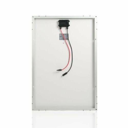 100W Solar Panel Polycrystalline Grid RV Home TO