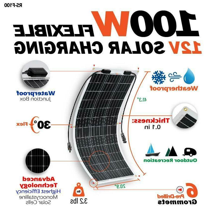 RICH SOLAR Flexible PV RV ETFE