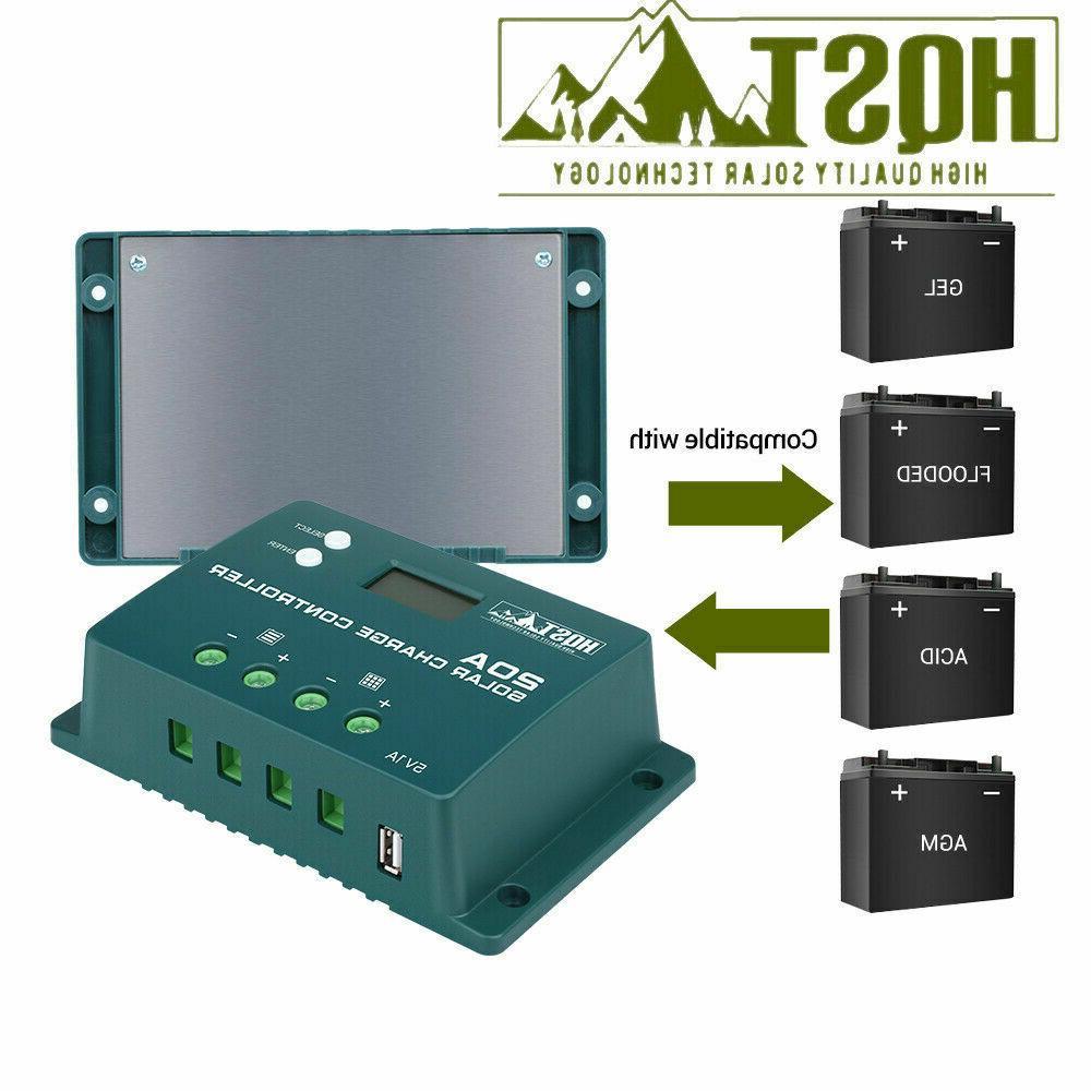 HQST Solar W/ PWM Battery