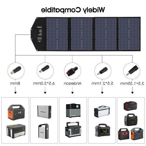 Suaoki 100W Bank Portable Foldable US