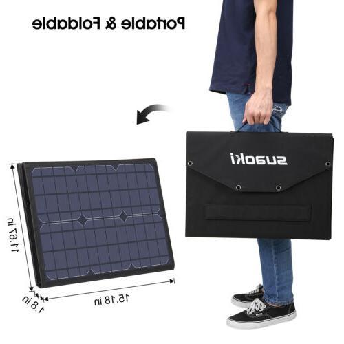 Suaoki 100W 18V Panel Bank Portable Bag