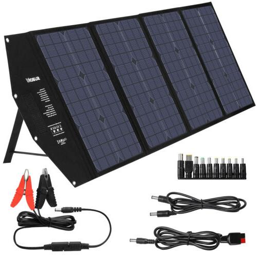 100w 18v solar panel battery charger power